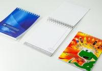 формат А6, полноцветная печать, скрепление на пружину