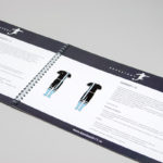 Каталоги и брошюры на пружине