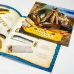 Каталоги и брошюры на скрепке